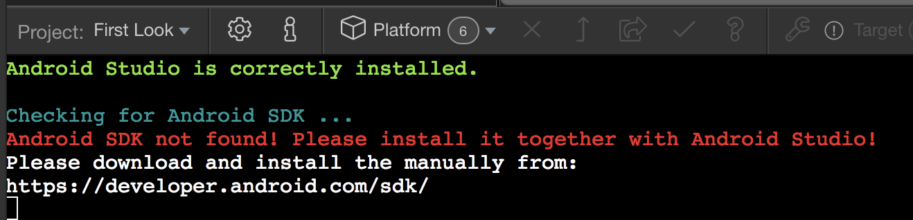 Android SDK does not get installed on a Mac - Bugs - Wappler Community