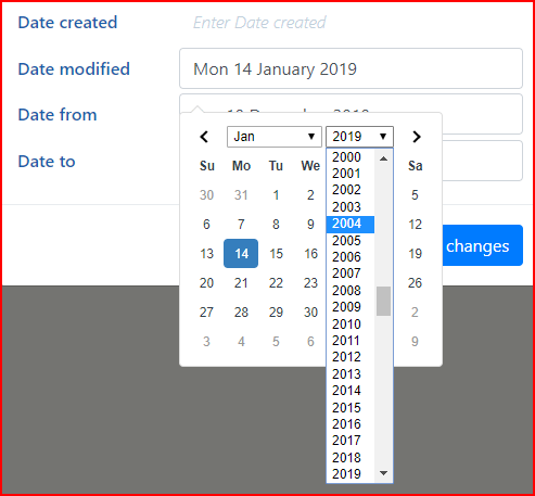 Date Picker : How to set Min Year/Max Year - How To - Wappler Community