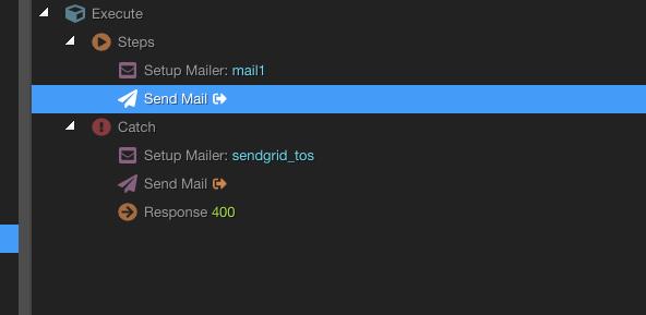 no send - status 200